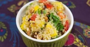 Marijuana and Mango Quinoa Salad