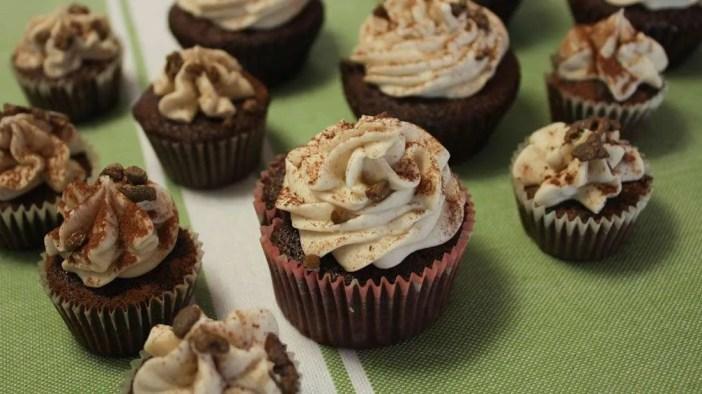 cannabis cupcakes, Cocoa Kahlua Cupcakes