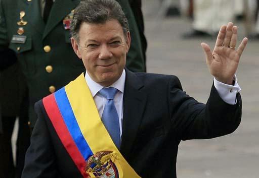 juan manuel santos calderon presidente colombia