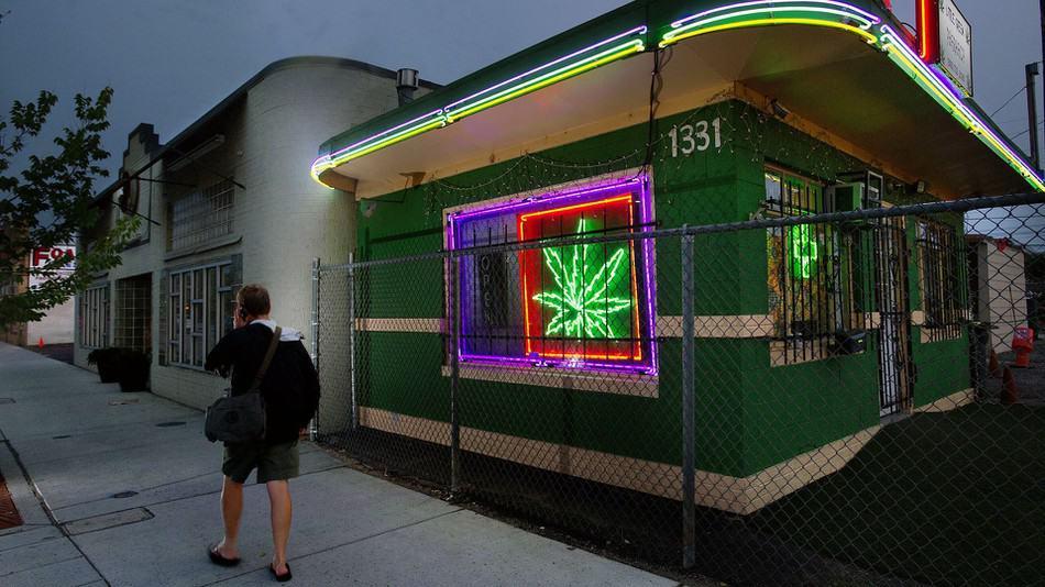 cannabis deposit in British columbia