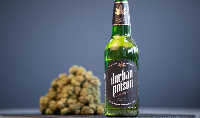 cannabis beer - Durban Poison