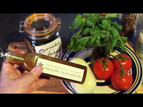 How To Make Marijuana Salad Dressing (Cannabis Infused Balsamic Vinaigrette)