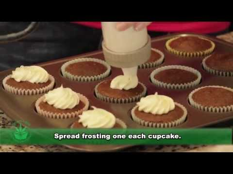 HOW TO MAKE WEED CUPCAKES