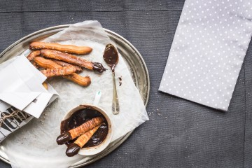Cannabis Infused Churros & Infused Chocolate Dip