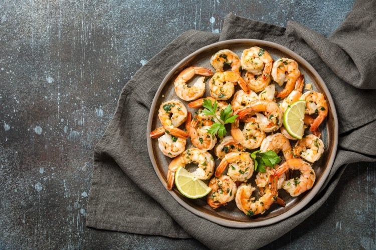 Cannabis Garlic Shrimp