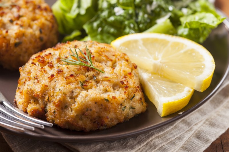 10Cannabis Infused Crab Cakes