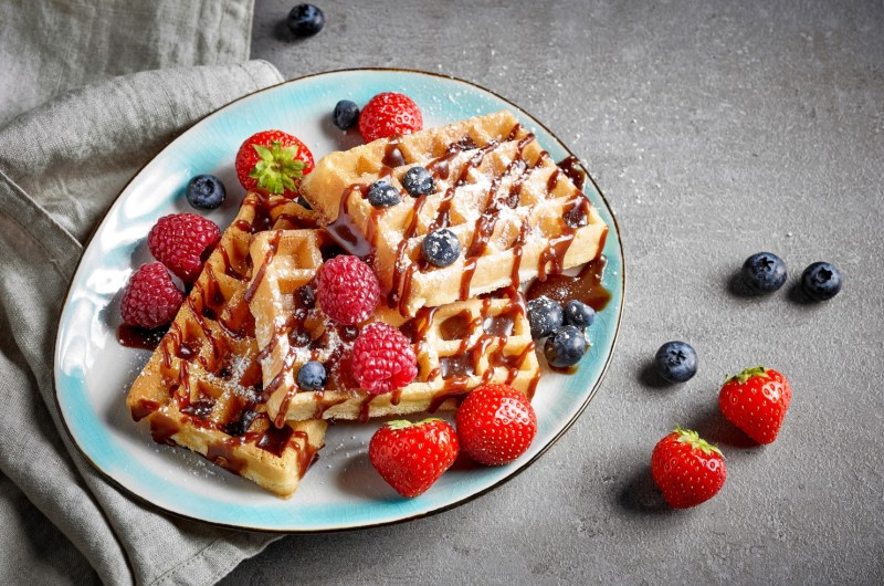 Cannabis Infused Waffles