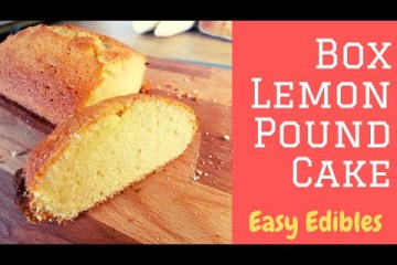 Infused Lemon Pound Cake