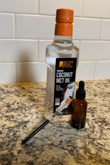 RSO / FECO Infused MCT Oil For Tinctures