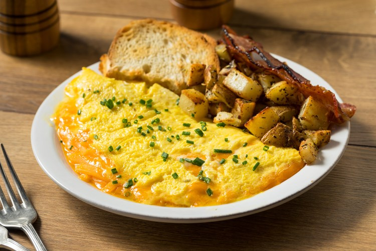 Cannabis Infused Omelet