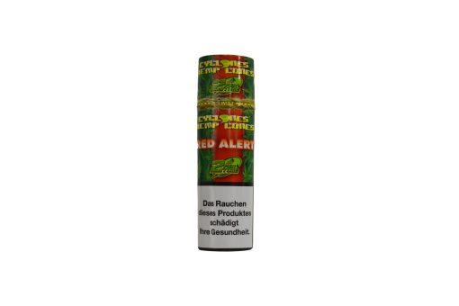 Cyclones-Hemp-Cones-Red-Alert-RAW-Paper