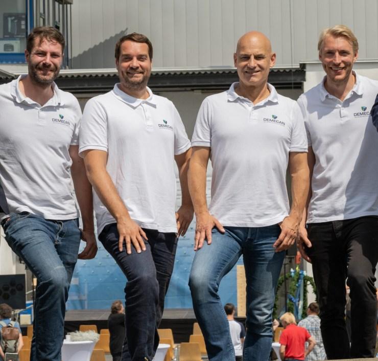 Team der Demecan, deutscher Produzent von Medizinal-Cannabis