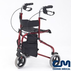 rollator delta evolution 3 roues