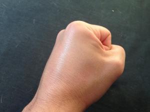 Contrariété d'un gaucher