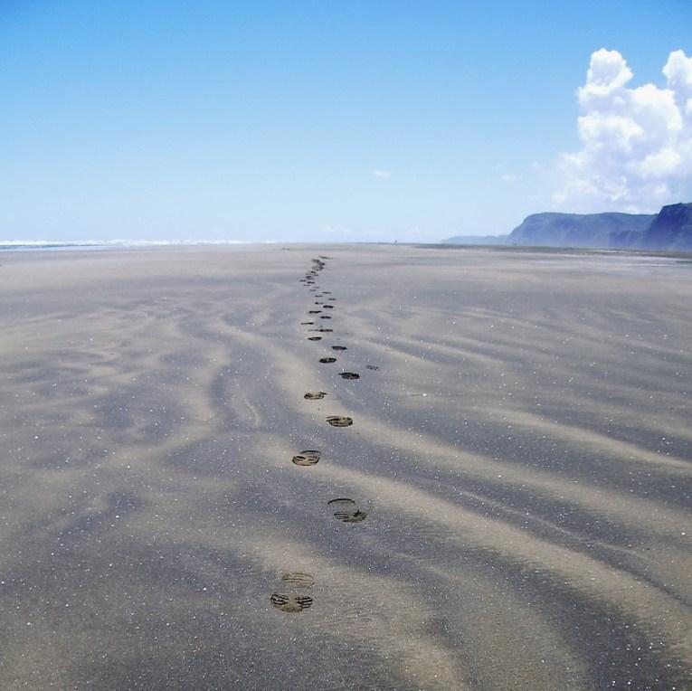 Whatipu Footprints