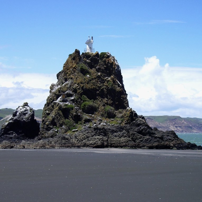 Whatipu Ninepin Rock