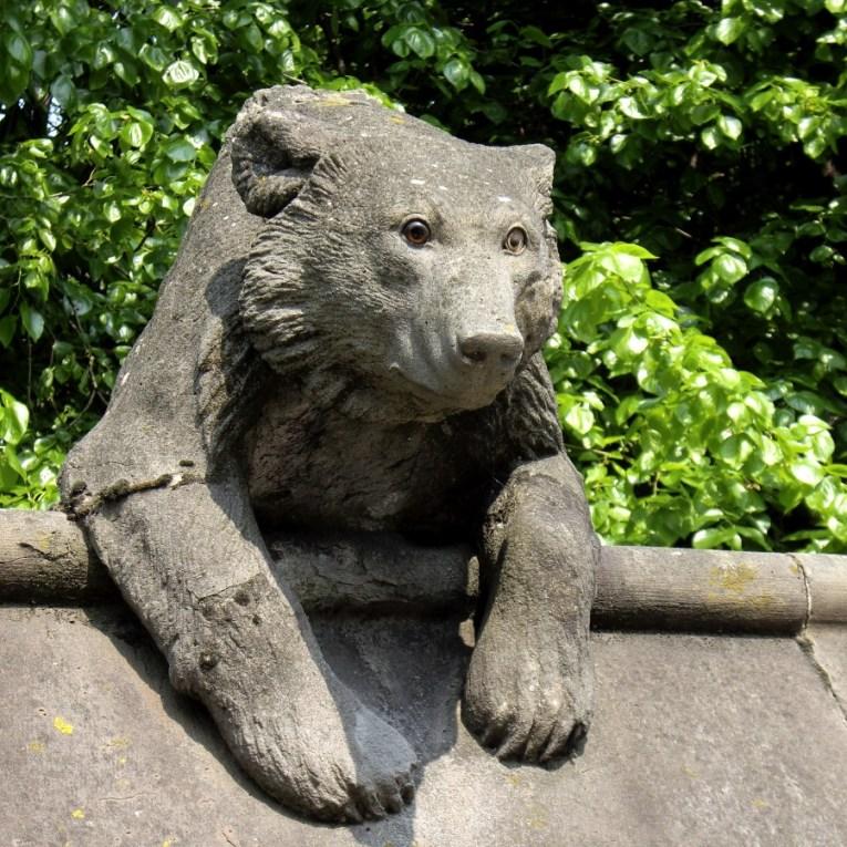 Cardiff Animal Wall - Bear