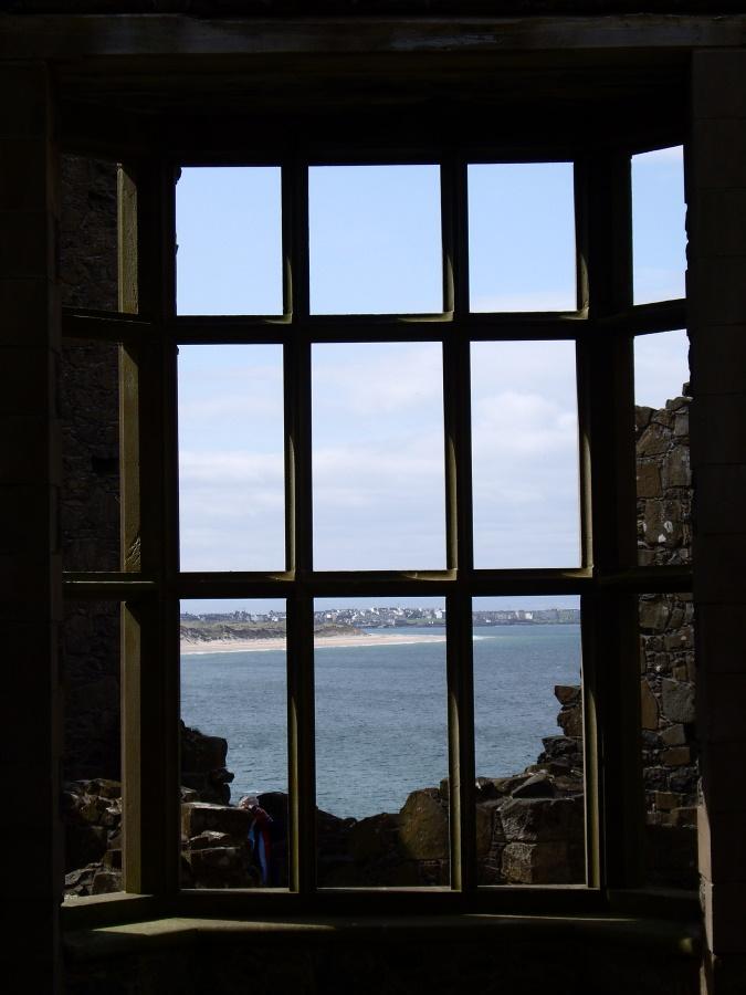 Dunluce Castle Window