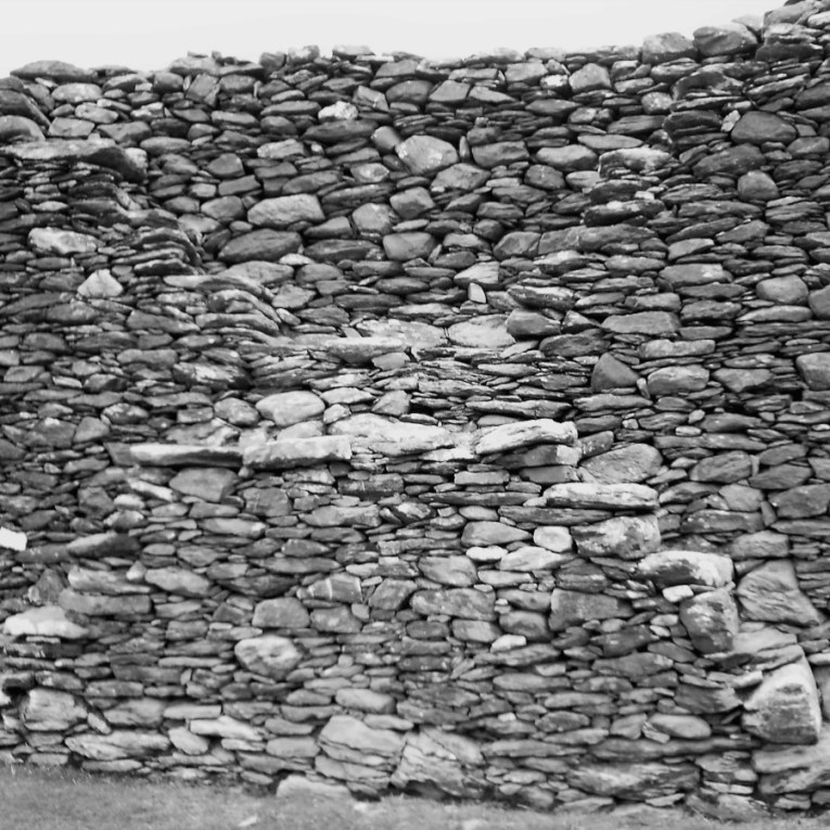 Staigue Fort - X Marks the Spot