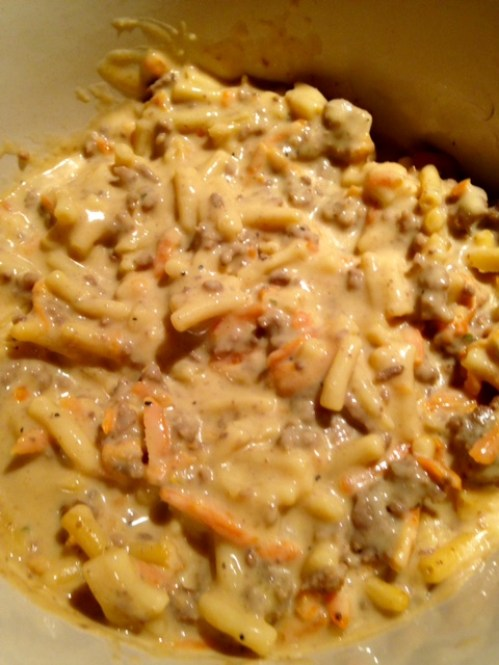 cheeseburger mac stew