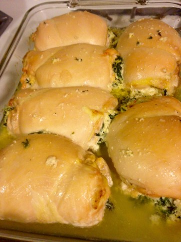 stuffed chicken breast - baked