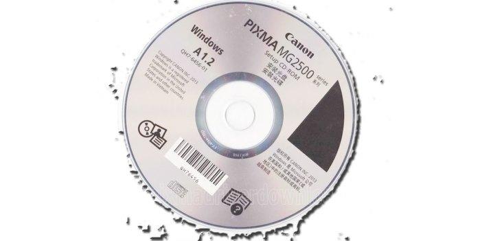 CD DRIVER CANON