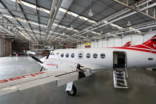 Vuelo Bogotá La Macarena en jet privado, vuelo charter