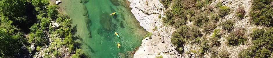 canoe herault drone