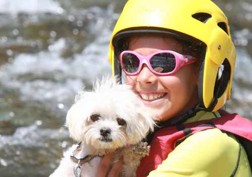 canoe herault chien