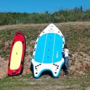 sup-paddle canoe le tourbillon a collias