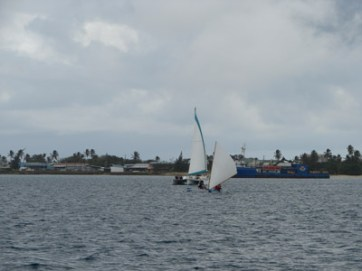 MBYC race 2009 - canoe with Sequester