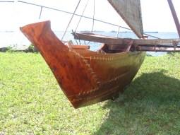Taiwan canoe - hull