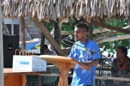 Naan in Karwainene/welcoming speech: Neil Lakmij