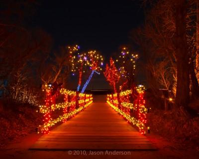 Christmas Lights at Chatfield 6