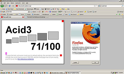 Firefox 3 on Windows XP