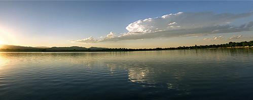 Colorado Sunset Panorama