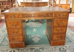 George II Knee Hole Desk