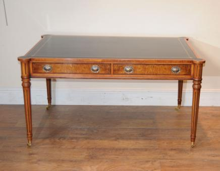 Regency Walnut Desk Writing Table