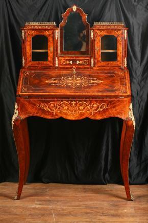 Antique Victorian Bureau resepsjon Bonheur Du Jour