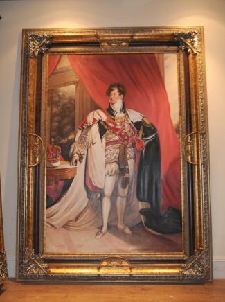 Английский Картина маслом принца-регента Георга IV