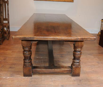 Oak Farmhouse refektoriet Table Kitchen