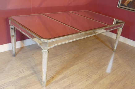 Art Deco Gespiegelte Dining Table Desk