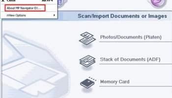 MP Navigator EX Windows 10   Canon Software