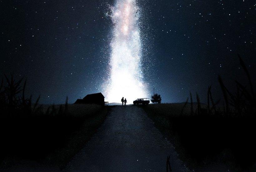 cielo stellato immagine dal film interstellar