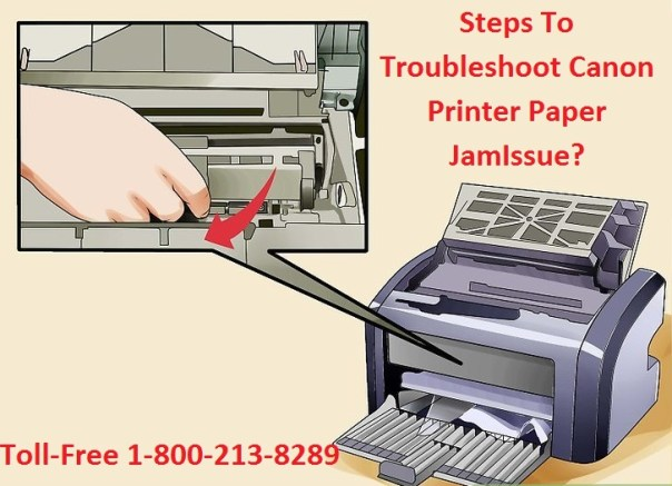 How To Troubleshoot Canon Printer Paper Jam Issue