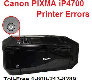Canon PIXMA iP4700 Printer Errors