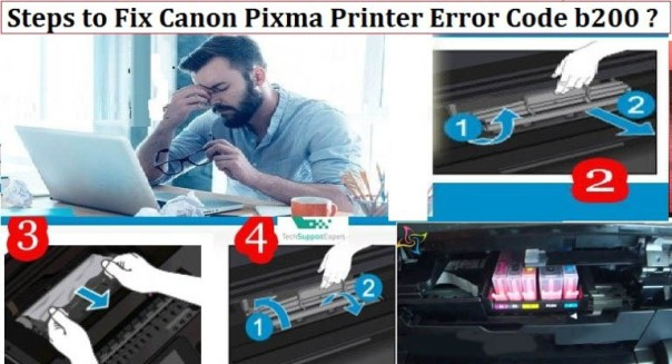 Canon Pixma Printer Error Code b200