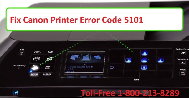 Canon Printer Error Code 5101