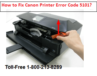 How to Fix Canon Printer Error Code 5101