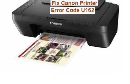 Fix Canon Printer Error Code U162